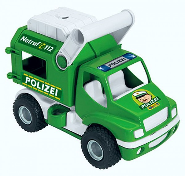 Wader Polizeifahrzeug