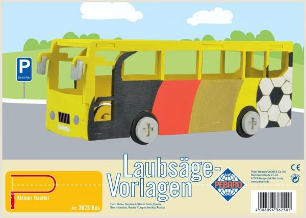 Laubsägevorlagen Bus
