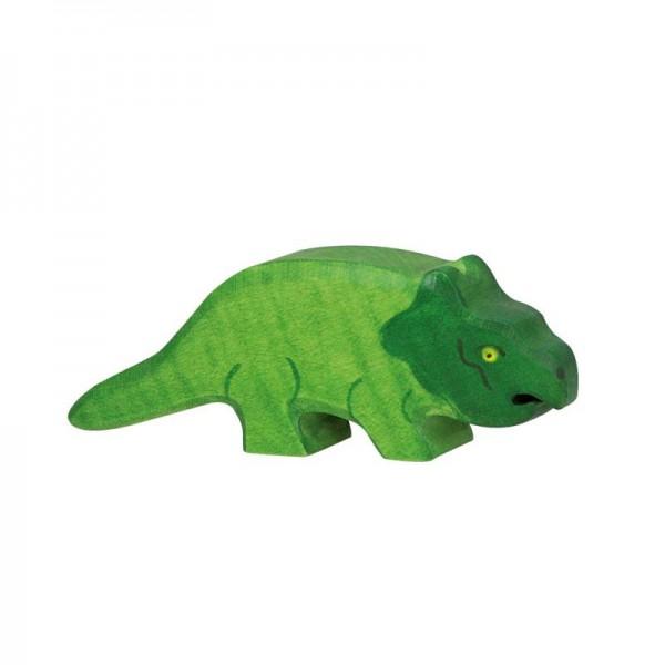 Holztiger Spielfigur Dinosaurier Protoceratops