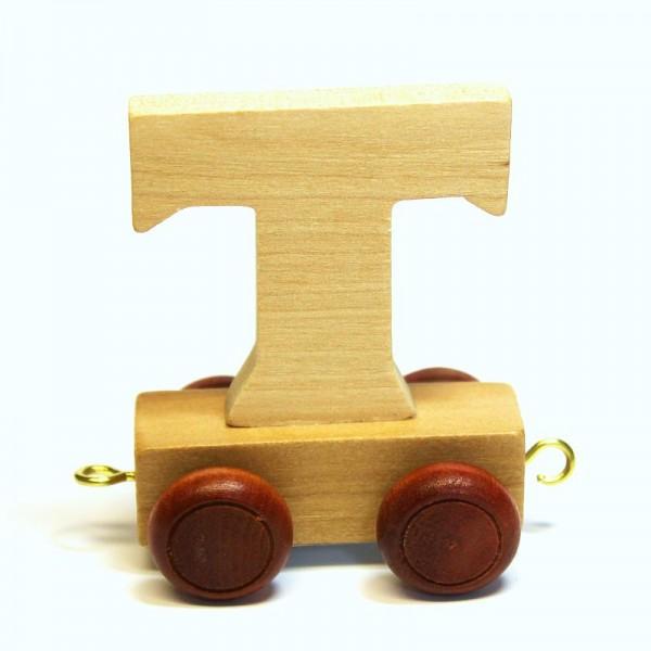 Buchstabenzug Buchstabe T, Holz
