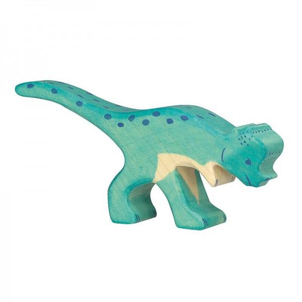 Holztiger Spielfigur Dinosaurier Pachycephalosaurus