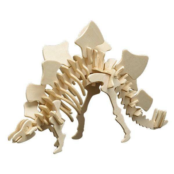 Pebaro Holzbausatz Stegosaurus