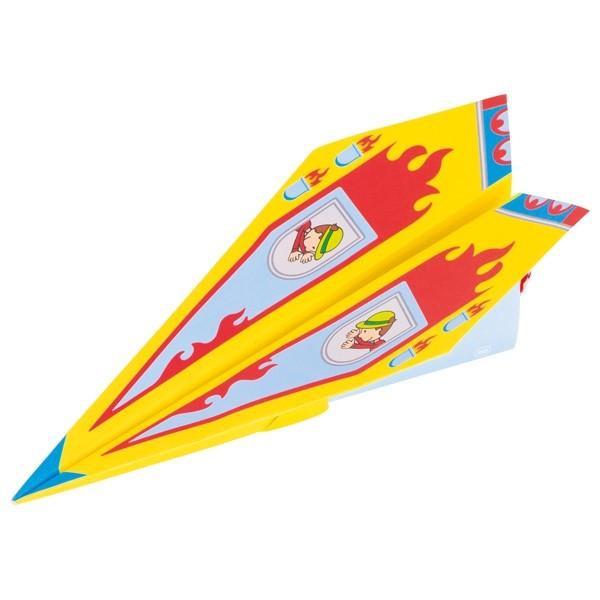 Papierflieger für den Kindergeburtstag, 5fach sortiert, 10 Bögen per Set