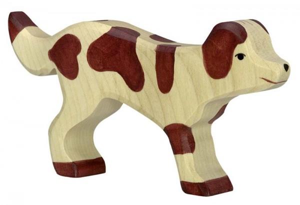 Holztiger Spielfigur Hofhund