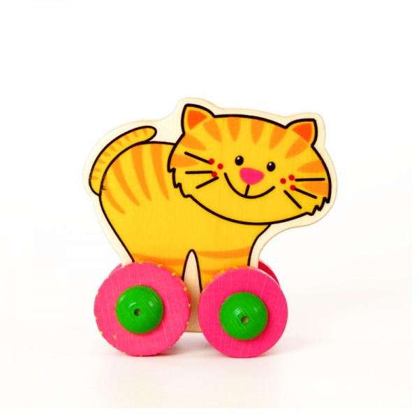 Hess Holzspielzeug Rolli Katze