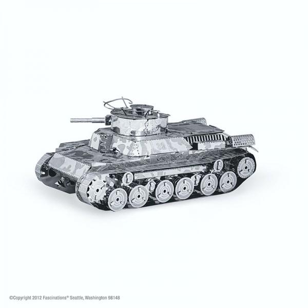 Metal Earth Edelstahl Bausatz Panzer Chi Ha Tank