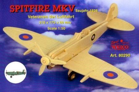 Spitfire MK V, Weico Holzbausatz