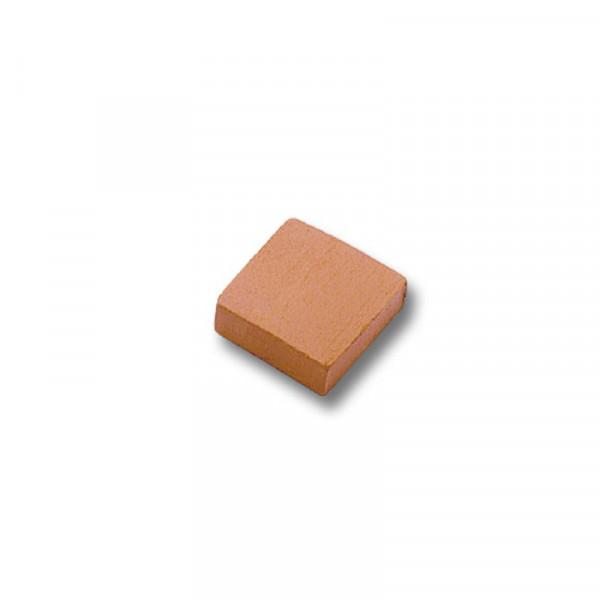 Teifoc Fliese halb, Miniaturziegel,,gebrannter Ton