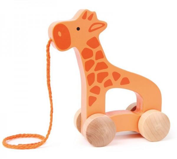 Ziehtier, Nachzieh-Giraffe, aus Holz