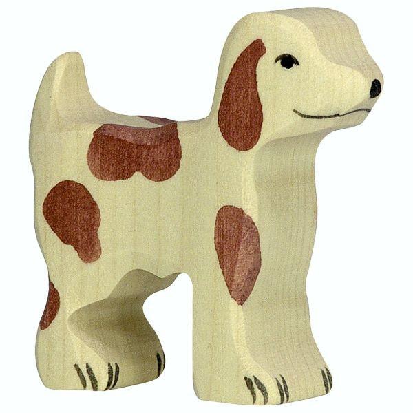 Holztiger Spielfigur Hofhund, klein