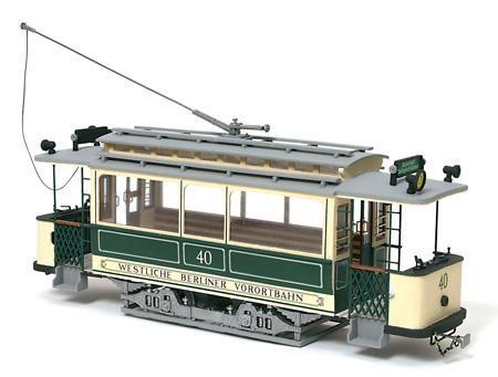 Occre Holzbausatz Berliner Tram