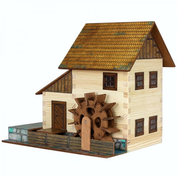 Walachia Holzbausatz Wassermühle
