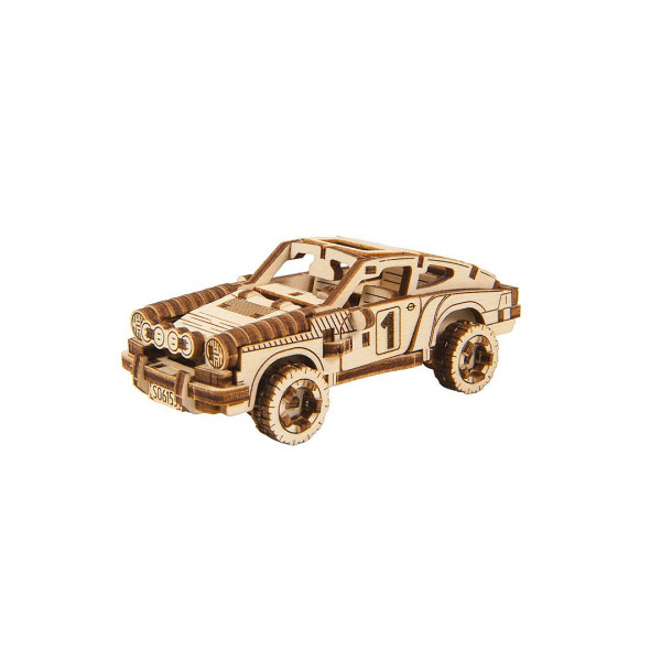 Wooden City Superfast, 3D Holzbausatz Rally Car 4, Sports Car