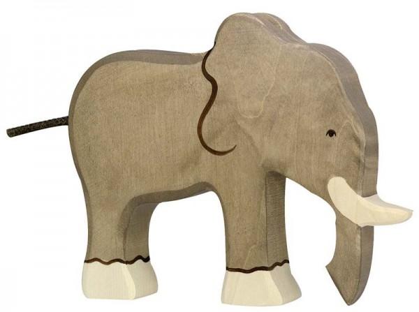 Holztiger Spielfigur Elefant