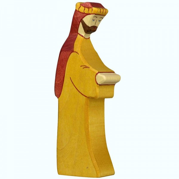 Holztiger Krippenfigur Josef 2