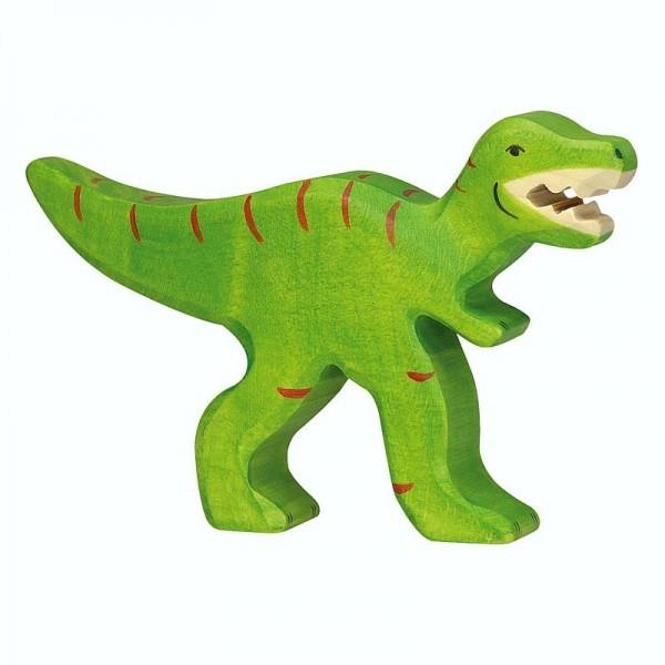 Holztiger Spielfigur Dinosaurier Tyrannosaurus Rex