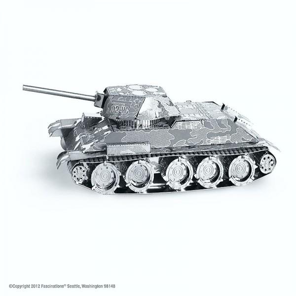 Metal Earth Edelstahl Bausatz Panzer T-34