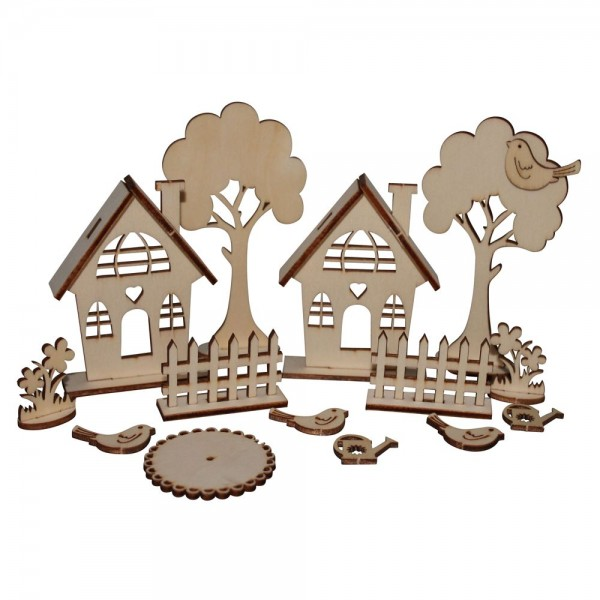 Holzbausatz Gartenhäuser