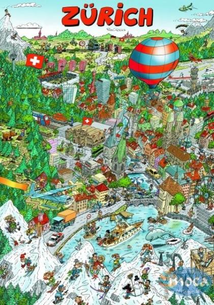 Moca Puzzle Zürich 336 Teile