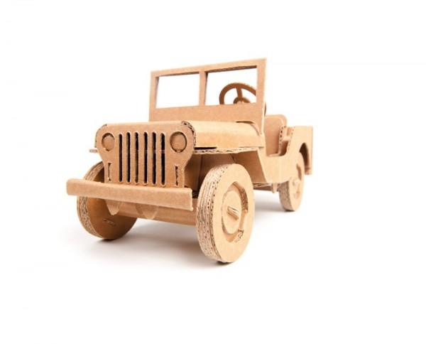 Geländewagen, Kartonbausatz