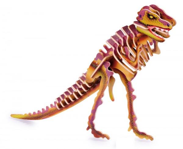 3D Puzzle Holzbausatz Tyrannosaurus
