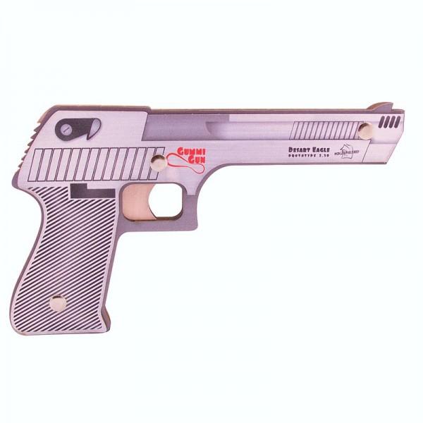 "Holzbausatz Pistole Gummi Gun ""Desart Eagle"""