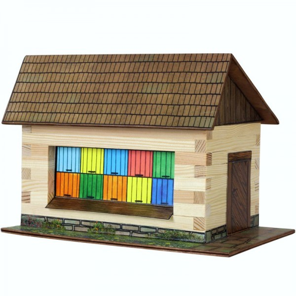 Walachia Holzbausatz Bienenhaus