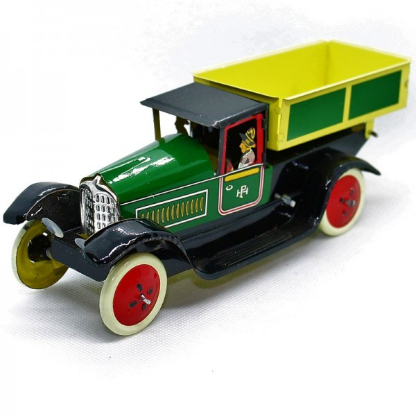 Blechspielzeug Brauerei Lastwagen mit Ladefläche