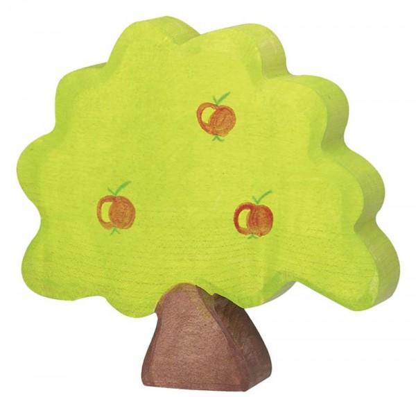 Holztiger Spielfigur Apfelbaum, klein