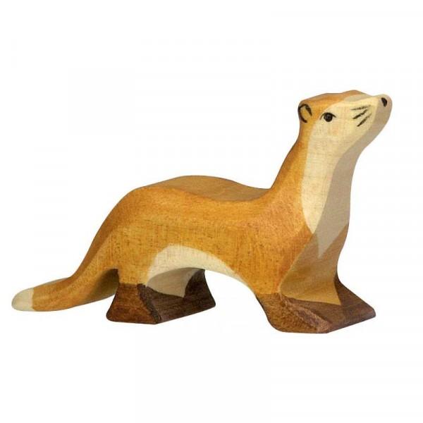 Holztiger Spielfigur, Marder