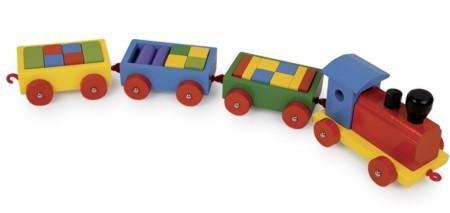 Holzeisenbahn Zug Niklas