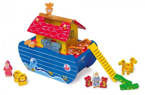 Arche Noah, Holzspielzeug im 21teiligen Set