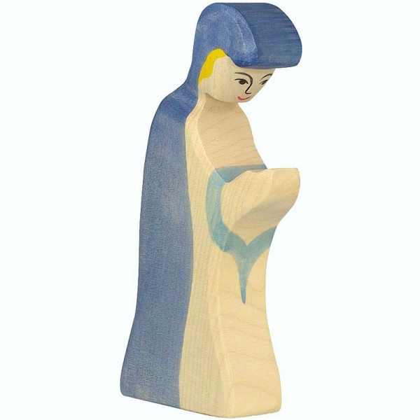 Holztiger Krippenfigur Maria