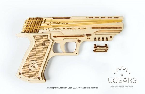 Ugears Holzbausatz Wolf-01 Pistole
