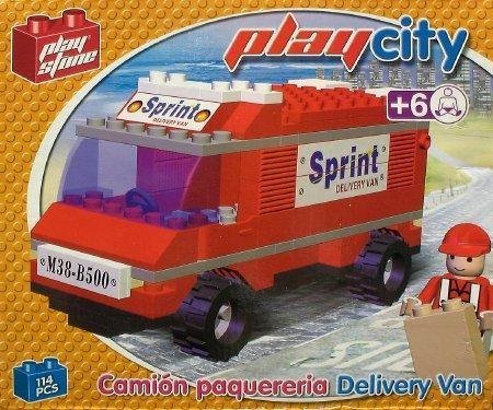Playstone Lieferwagen