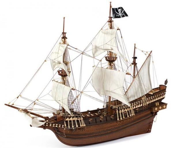 Galeone Buccaneer, Occre Schiffsbausatz aus Holz im M 1:100
