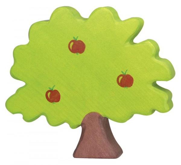 Holztiger Spielfigur Apfelbaum