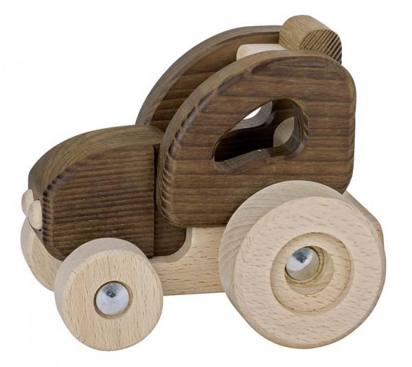 Holzspielzeug Traktor, Holz Goki nature