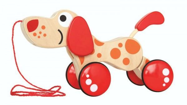 Ziehspielzeug Hündchen Puppy, aus Holz